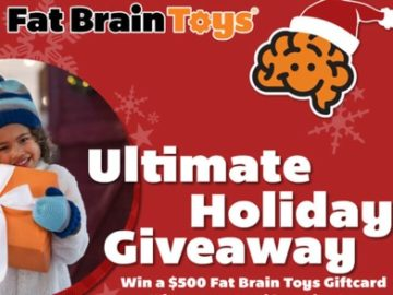 Fat Brain Toys Ultimate Holiday Giveaway