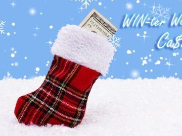 Frankly Media Winter Wonderland Cash Giveaway