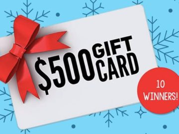 Win One of Ten $500 Walgreens Gift Cards! (Teachers Only)