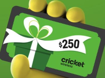 Cricket Celebrating Culture Sweepstakes