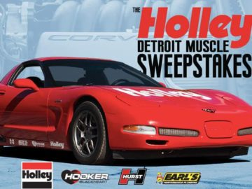 Power Nation Holley Muscle Car Sweepstakes