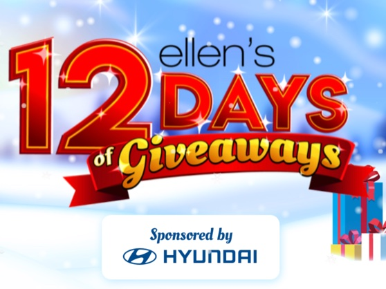 Ellen's 12 Days of Giveaways 2020