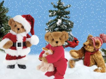 Vermont Teddy Bear BEARy Merry Christmas Giveaway