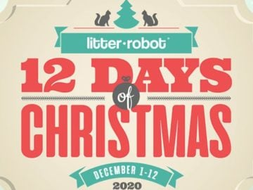 Litter-Robot's 12 Days of Christmas 2020 Sweepstakes