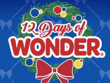 Wonder Bread 12 Days of Wonder Sweepstakes