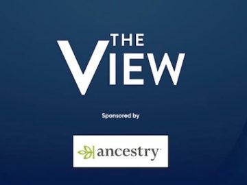 The View and Ancestry Holiday Giveaway