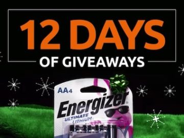 Batteries + Bulbs 12 Days of Giveaways