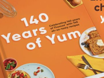 Thomas' 140 Year Anniversary Cookbook Giveaway