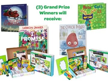 Crayola & HarperKids Colorful Holiday Sweepstakes