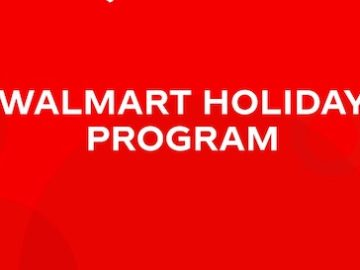 Walmart Holiday Program Instant Win Game (CA, NV Only)