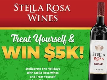 Stella Rosa Holiday Shopping Spree Sweepstakes (Limited States)