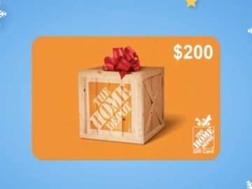 Intermountain Healthcare $200 Home Depot Giveaway