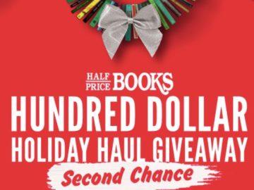 Half Price Books Holiday Haul 2 Sweepstakes