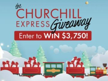 Churchill Express Giveaway Sweepstakes