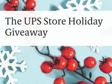 The UPS Store 2020 Holiday Gift Giveaway Sweepstakes