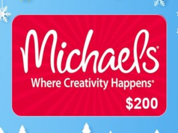 Intermountain Healthcare $200 Michael's Gift Card Giveaway