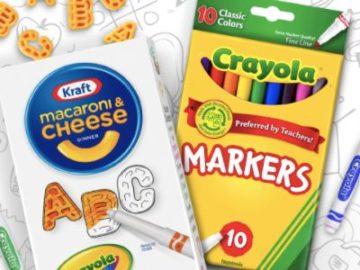 Kraft Mac N' Color Instant Win
