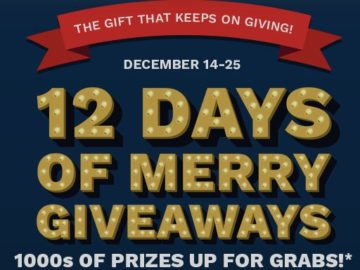 Cinemark's 12 Days of Merry Giveaways