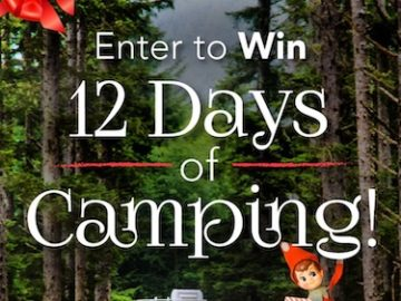 Thousand Trails 12 Days of Camping Sweepstakes