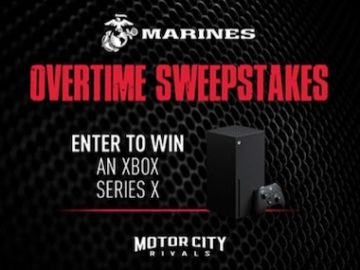 Marines Overtime Pistons GT Sweepstakes
