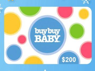 Intermountain Healthcare $200 Buy Buy Baby Giveaway