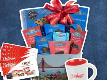 Delizza Ghirardelli Prize Package Giveaway