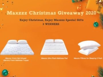 Maxzzz Christmas Giveaway 2020