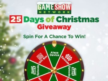 Game Show Network 25 Days of Christmas Giveaway