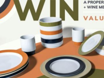 Win a Proper Plate Dinnerware Set Sweepstakes