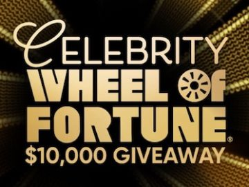 Celebrity Wheel of Fortune $10,000 Giveaway (Puzzle Solution)