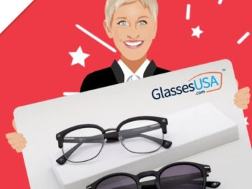 Ellentube Win a $1,000 GlassesUSA Gift Card