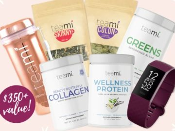 Teami January Healthy Habits Giveaway