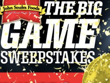 The John Soules Foods Big Game Sweepstakes