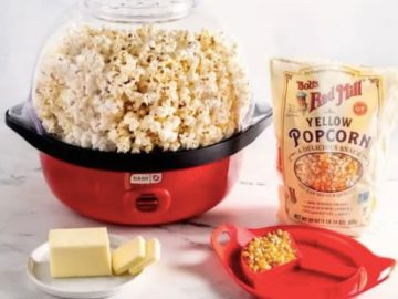 Celebrate National Popcorn Day with Bob's Red Mill and Dash Giveaway