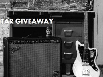 Firestone Walker 805 Fender Guitar Giveaway (Limited States)