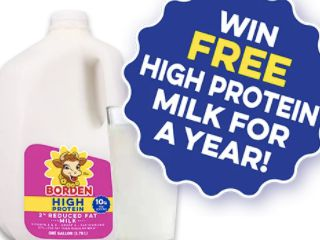 Borden High Protein Milk Sweepstakes Official Rules (TX, LA Only)