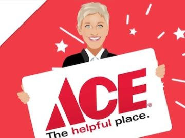 Ellen's $500 Ace Hardware Giveaway