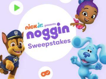 Nick Jr. 2021 Noggin Sweepstakes
