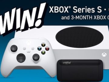 Crucial Memory Xbox Series S Giveaway