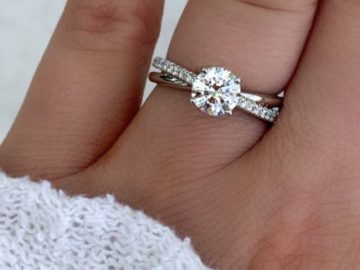 J.R. Dunn 1 Carat Diamond Ring Valentine's Giveaway