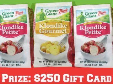 Green Giant Fresh Game Day Giveaway!