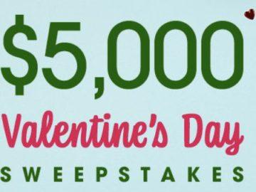 Bobby Bones Show's $5,000 Valentine's Day Sweepstakes