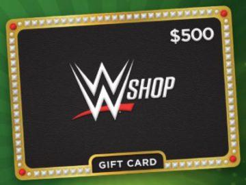 Cricket WWE Shop Gift Card