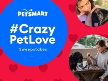 PetSmart Crazy in Love with Pets Sweepstakes (Instagram)