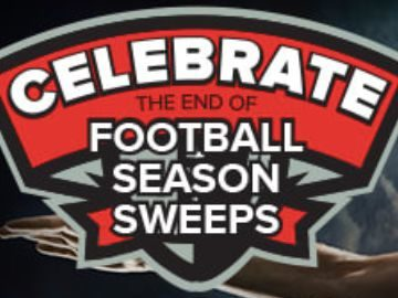 CBS Sports Celebrate the End of Football Season Sweepstakes