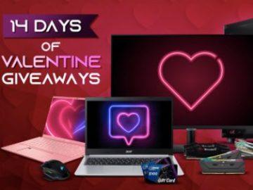 Newegg 14 Days of Valentine Giveaways