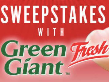Potato Lover's Sweepstakes with Green Giant Fresh Sweepstakes
