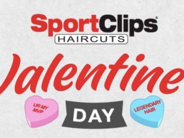 Sport Clips Haircuts Valentine's Day Giveaway