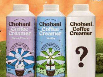 Chobani I Dream of Creamer Flavor Contest