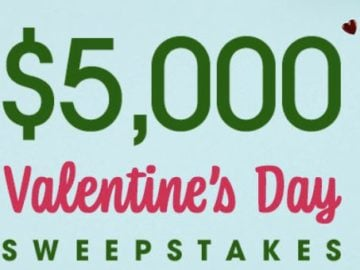 Ryan Seacrest's $5,000 Valentine's Day Sweepstakes
